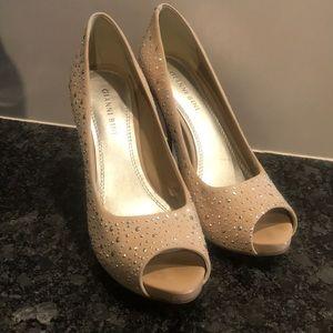 Gianni Bini sparkle heels